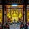 Inside Buddha temple