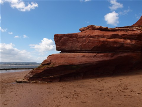 Orcombe Point, Exmouth, Devon, England