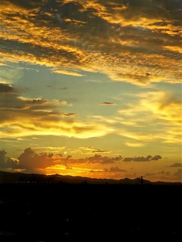 AZ Sunset - Kodachrome