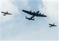 Battle of Britain Memorial Flight - the Spitfire Hurricane and Lancaster were ubiquitous and belong together.