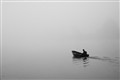 Lonely boatman