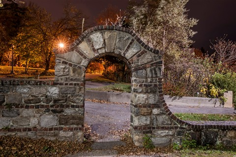 Night Photography Arch