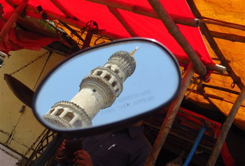Different view of Charmenar Hyderabad