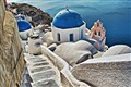 Santorini's church