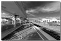 Loney train stop