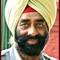 Man Red Turbin India border challenge P10000605