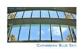 Caribbean blue sky
