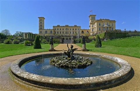 Looking to rear of Osborne House