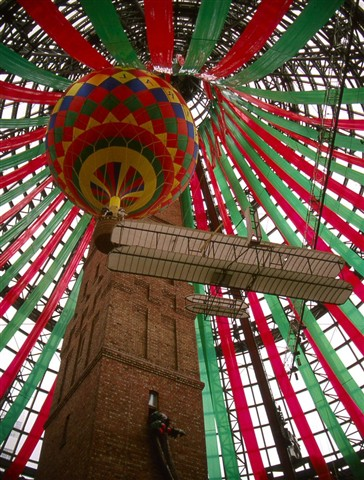 Melbourne-Central-Coops-Shot-Tower at Christmas