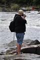 Capturing the rapids-Burleigh Falls