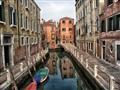 Venice Canal Reflection