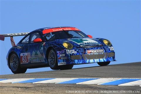 TRG Porsche 911 GT3 Cup number 63