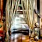 Elevator with curtains  challenge Arhaus P4070001