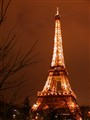Eiffel Tower Glowing