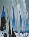 Ice in the French Alps