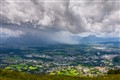 Heavy weather over Salzburg