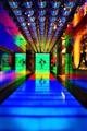Corridor in neon