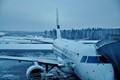 Aircraft at Helsinki Vantaa Airport