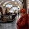 Moscow Metro, Moscow, Russia: Moscow Metro, Moscow, Russia October 2018