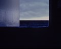 Looking out a beach house window. Shot 1979.