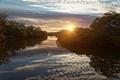 Lota Creek at sunrise