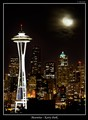 Moonrise - Kerry Park