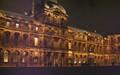 Paris la nuit, promenade au Louvre