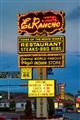 el rancho motel sign
