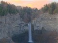 Taughannock Falls at dawn, Tompkins County, NY, USA