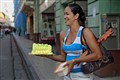 Birthday Cake in the streets of Santiago de Cuba