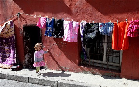 Clothes and Little Girl