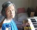 Playing Her Organ