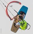 Kitesurfing Champion Timmy Zach competing in Aruba Hi-Winds where he won 1st Place