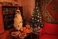 Georgian tradition Christmas tree Chichilaki