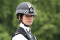 Mounted policewoman in London