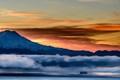 Winter morning on Washington's Puget Sound