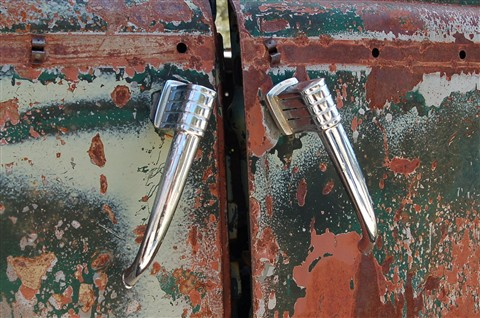 Old Suicide Door handles