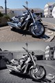 Harley Davidson Intruder. Before and after retouching versions.
