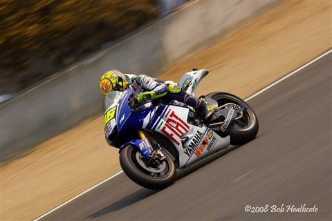 Valentino Rossi, during qualifying