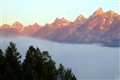 Grand Tetons above the Fog