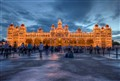 Mysore Palace in the City of Palaces, India