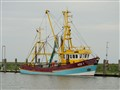 Shrimp Fisher at Hallig Hooge, Wadden Sea