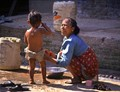 Mother and Son - Kathmandu