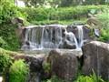 Waterfall at P L Deshpande Garden