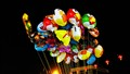 Flying Balloons and lanterns