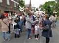 Assembling for Runcorn Carnival Parade