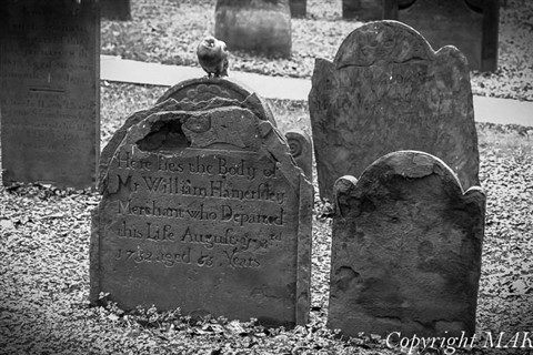 Trinity church grave