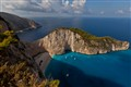 Shipwreck Cove, Zakinthos, Greece