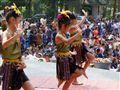 Thai school kids dancing