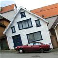 Leaning houses of Stavanger